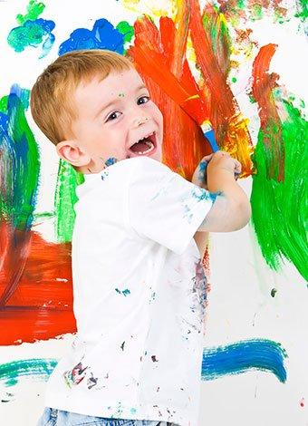 Tipos de pinturas para las habitaciones infantiles - Pintura para habitacion de ninos ...