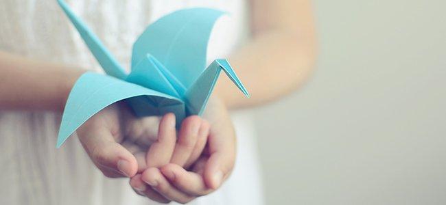 Figuritas de papel. Animales de origami