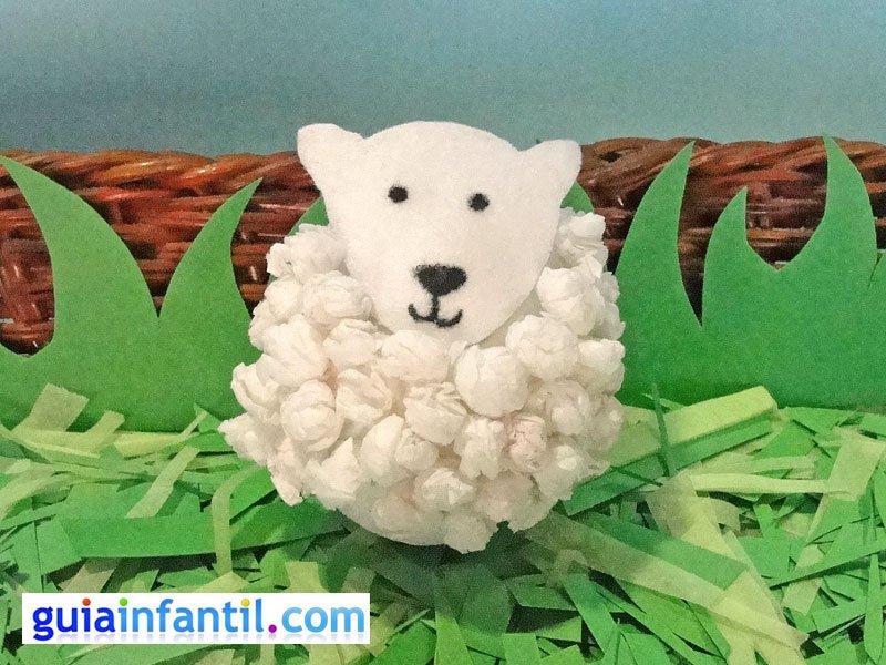 Escuelita online c mo hacer una oveja con un huevo y - Como hacer una oveja ...