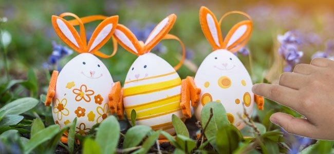 cómo hacer manualidades de conejo de Pascua