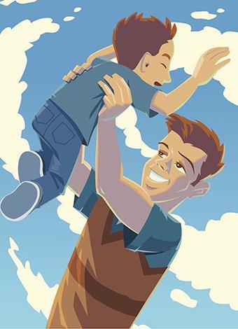Quiero ser como mi papá. Topo Gigio.