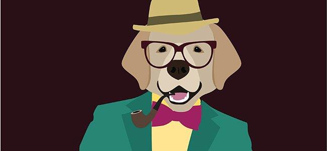 Fábula nueva sobre el perro que quería ser humano