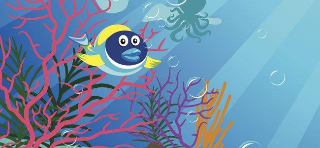 Poema sobre las emociones: pez tropical