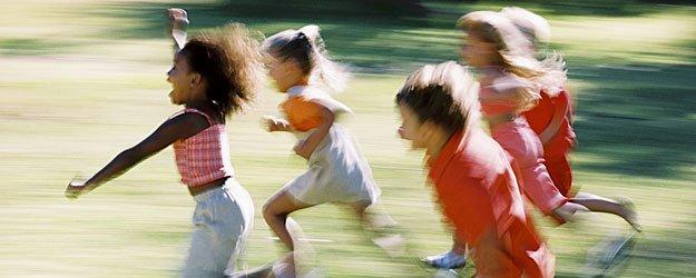 Juegos para niños. Pilla-pilla