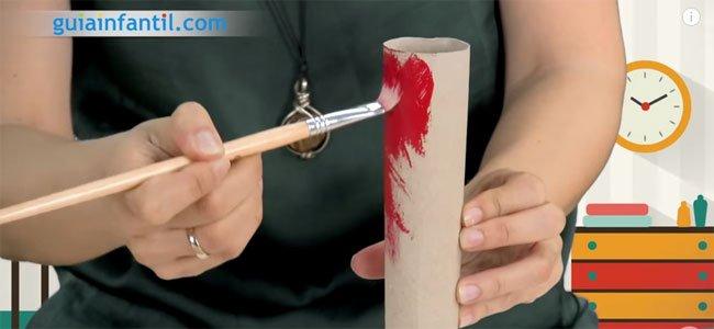 Pintar los rollos