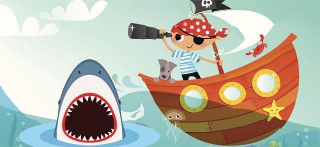 El barco del capitán Leo. Cuento de piratas para niños