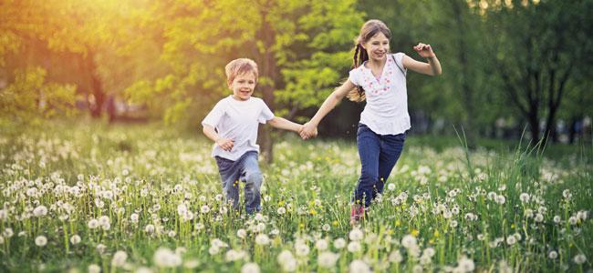 Planes con niños de muy distintas edades