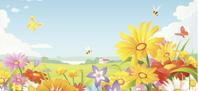 A la primavera. Poemas infantiles sobre las estaciones del año