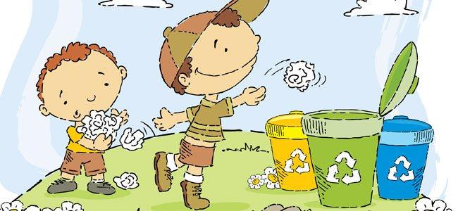 La Papelera Poema Sobre El Reciclaje