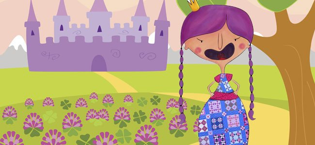 Cuento de la princesa enfadada