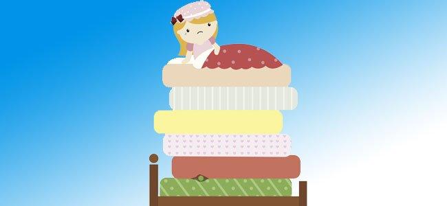Cuento para niños de la princesa y el guisante