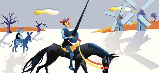 Cuento corto de Don Quijote