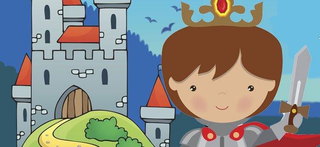 Rey con castillo