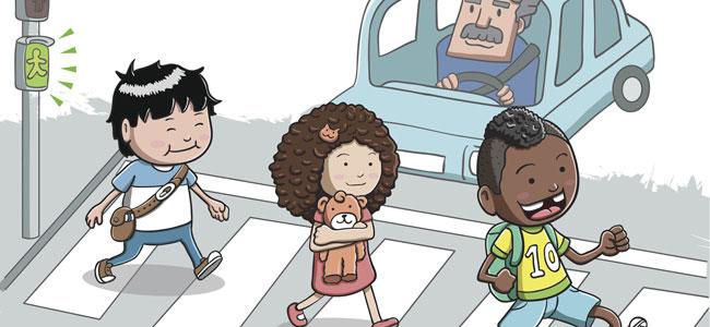 Poema para educar a los niños en seguridad vial