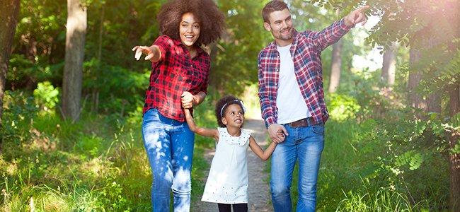 Enseñar a los niños a disfrutar del campo