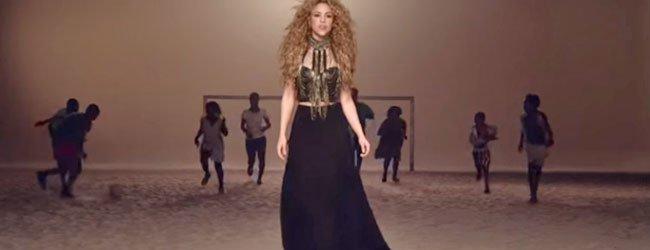 Letra en español e inglés de La la la de Shakira