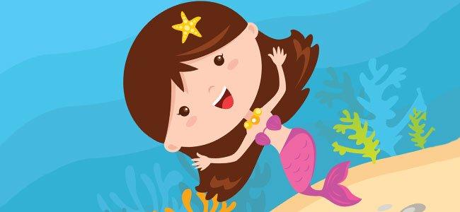 La Sirenita. Cuentos infantiles para tu hijo pequeño