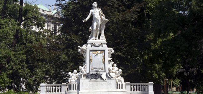 Celebración aniversário de Mozart