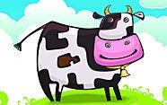 La vaca soñadora.