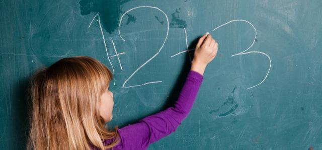 Niños que sueñan con números