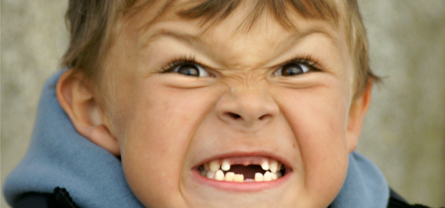 Niños sin dientes
