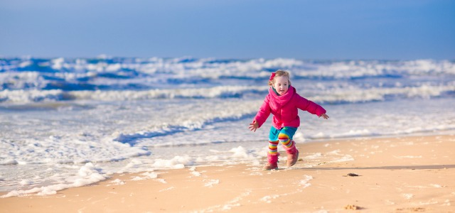 Niños que sueñan con el mar