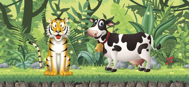 Cuento del tigre y la vaca