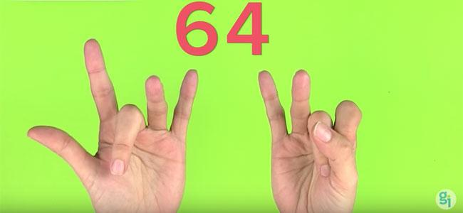 Truco del 8 con las manos