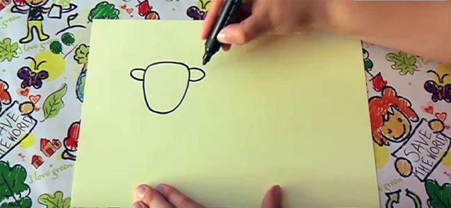 Dibujar una vaca