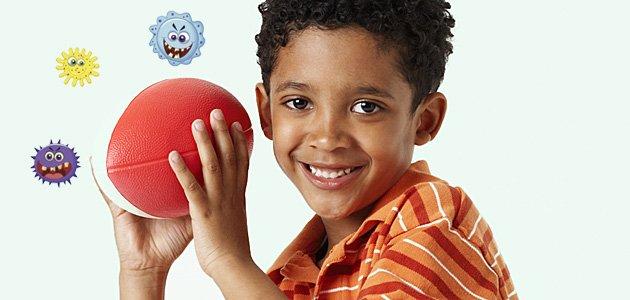 Como se juega la pelota envenenada con los niños