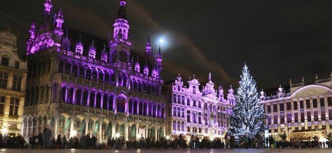 Navidad en Bruselas con niños.
