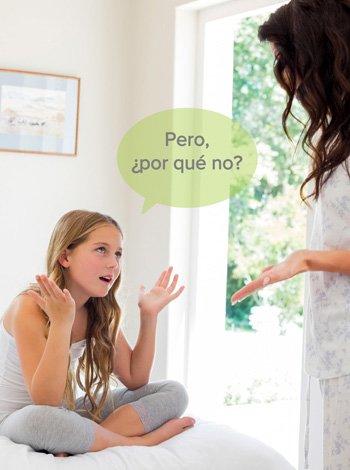 Cómo decir no o sí a los niños