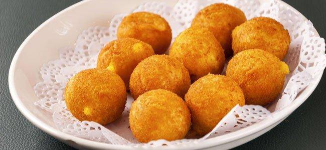 Receta para aperitivo: bolitas de patatas para niños