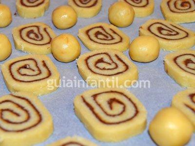 Receta de galletas caracol 5
