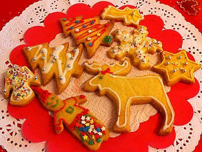 Galletas de navidad decoradas receta para ni os - Como se hacen adornos navidenos ...