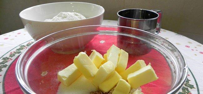 Ingredientes del abeto de galletas