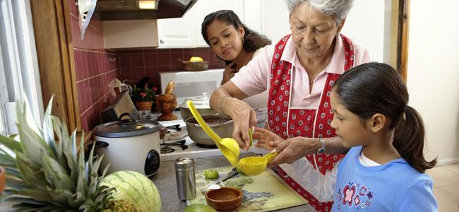 La cocina de la abuela latina