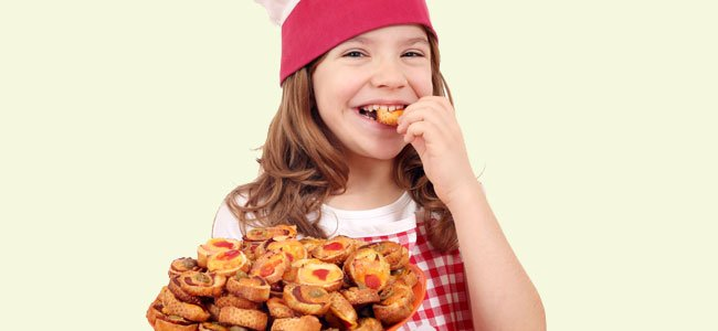 Recetas de canapés para niños