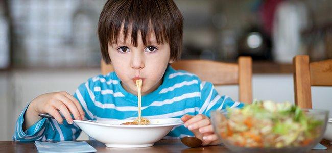 Recetas sanas para la cena de los niños