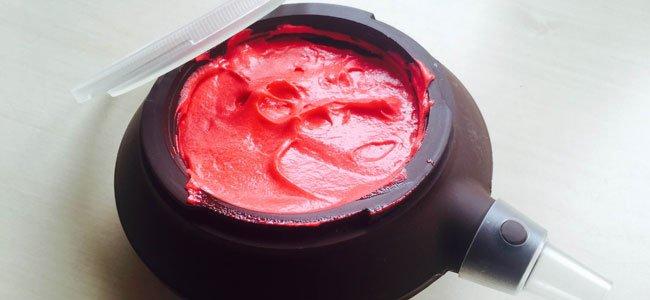 Masa para cake pops rojas