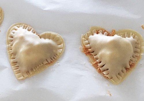 Empanadillas de atún para niños. Parte 4