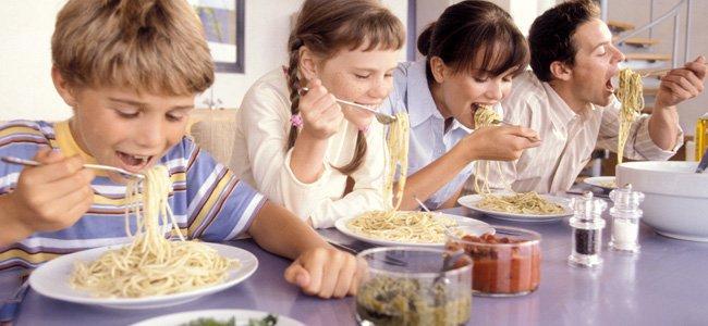 Recetas de espaguetis para toda la familia