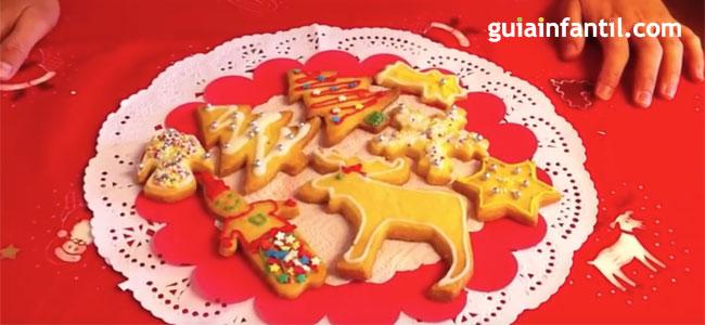 Receta de galletas de navidad para hacer con ninos