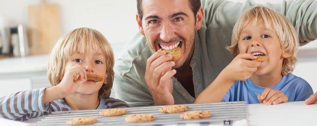 Galletas para el desayuno de papá