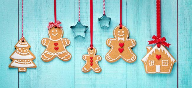 Dulces para el árbol de Navidad