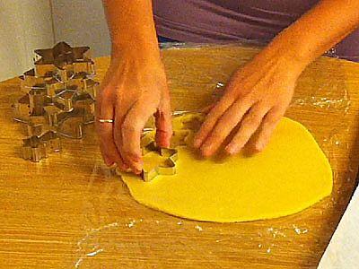Árbol de galletas paso 3
