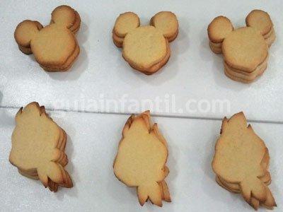 Decoración de galletas Disney. Paso 1