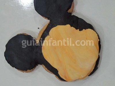 Decoración de galletas Disney. Paso 5