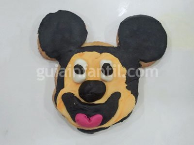Decoración de galletas Disney. Paso 6