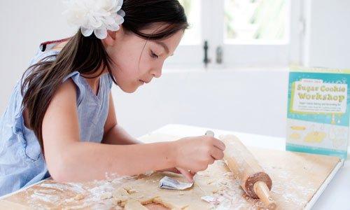 Cómo hacer galletas con forma de bolsita de te. Paso 1